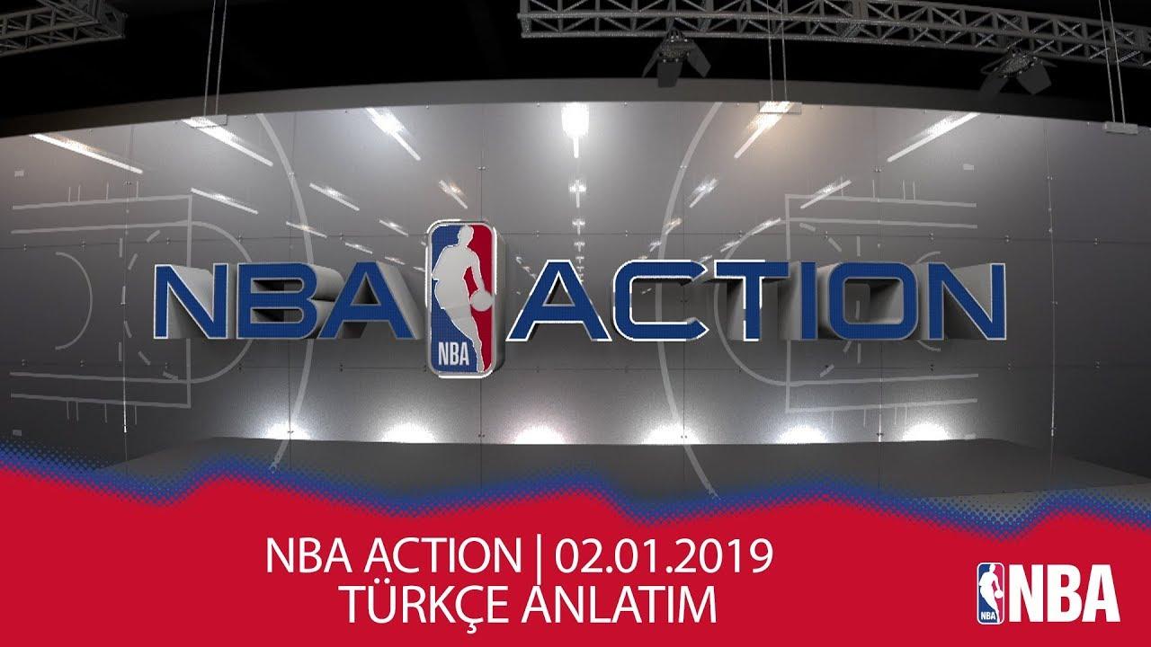 NBA Action | 02.01.2019 | Türkçe Altyazı