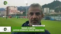 """İsmail Kartal: """"Galatasaray maçından inşallah yüzümüzün akıyla çıkarız"""""""