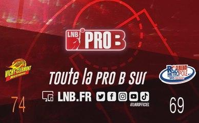 Leaders Cup PRO B : Vichy-Clermont vs Rouen (1/4 retour)