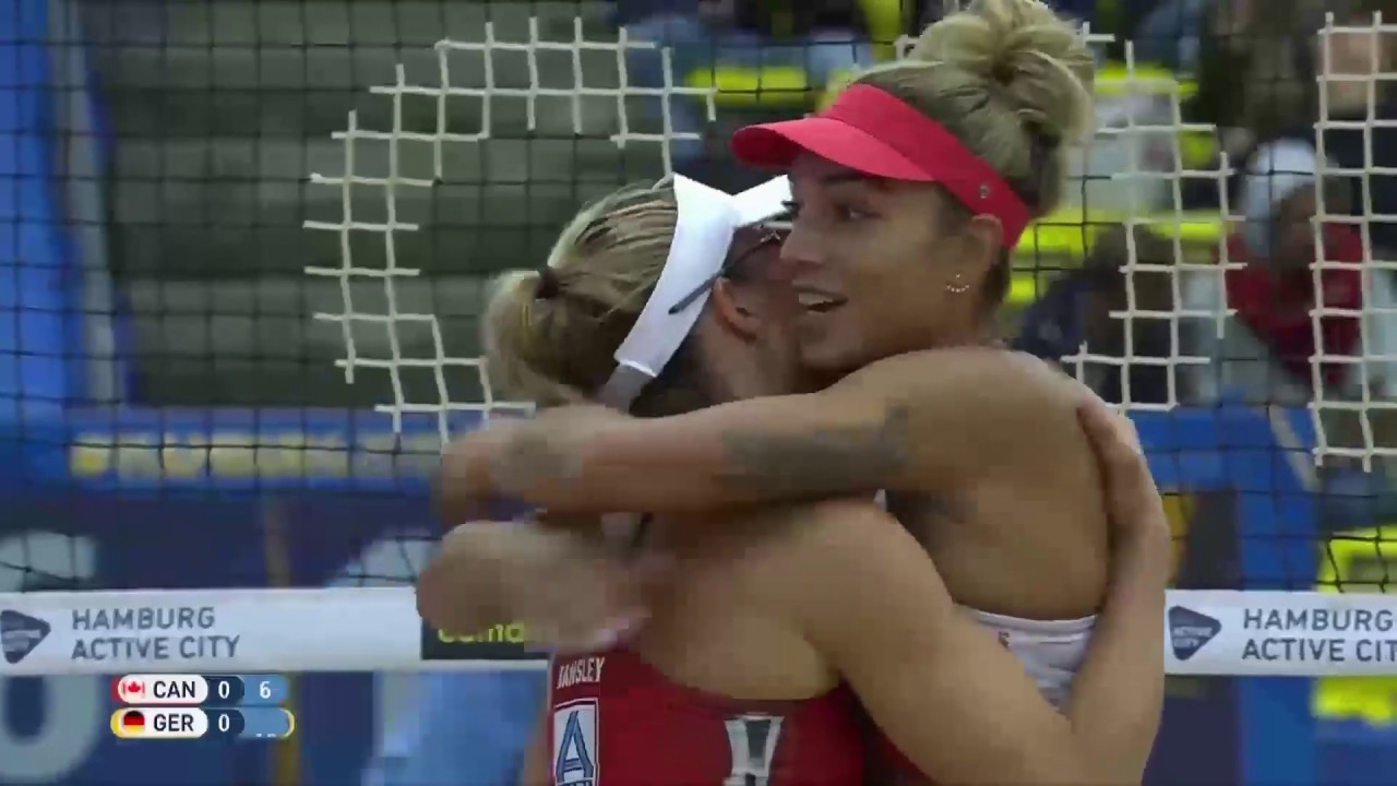 FIVB Beach Volleyball Kadınlar Dünya Şampiyonası | Kanada - Almanya