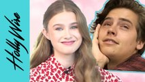 Trinity Likins Talks Playing Cole Sprouse's Little Sister On Riverdale & On Set Pranks