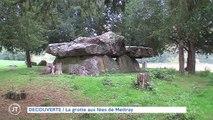 DECOUVERTE La grotte aux fées de Mettray