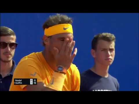 Nadal - Goffin (6-4 | 6-0) - ATP 500 Barcelona Open Yarı Final 2. Maçı