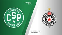 Limoges CSP - Partizan NIS Belgrade Highlights | 7DAYS EuroCup, RS Round 5