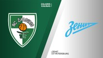 Zalgiris Kaunas - Zenit St Petersburg Highlights | Turkish Airlines EuroLeague, RS Round 5