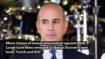 Matt Lauer Exposed Himself To 'Today' Producer After Work Party, Ronan Farrow Claims
