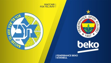 EuroLeague 2019-20 Highlights Regular Season Round 5 video: Maccabi 67-55 Fenerbahce