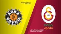 Asseco Arka Gdynia - Galatasaray Doga Sigorta Istanbul Highlights   7DAYS EuroCup, RS Round 5