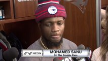 Wide Receiver Mohamed Sanu On Potentially Being Part Of Double Pass