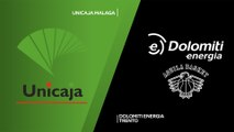 Unicaja Malaga - Dolomiti Energia Trento Highlights | 7DAYS EuroCup, RS Round 5