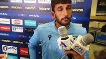 Cataldi in mixed zone dopo Lazio Torino