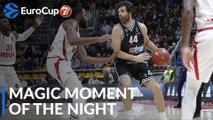 7DAYS Magic Moment of the Night: Milos Teodosic, Segafredo Virtus Bologna