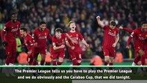Klopp fears Carabao Cup quarter-final forfeit