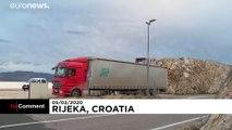 Des vents violents balaient la Croatie et l'Italie