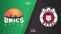 UNICS Kazan - Rytas Vilnius Highlights   7DAYS EuroCup, T16 Round 5