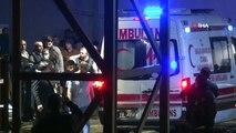 Sabiha Gökçen'de pistten çıkan uçakta yaralananlar hastaneye getirildi