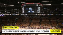 Lakers Pay Tribute to Kobe Bryant at Staples Center