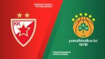 Crvena Zvezda mts Belgrade - Panathinaikos OPAP Athens Highlights   EuroLeague, RS Round 23