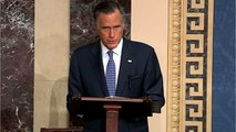 Republicans Lash Out At Romney For 'Removal' Vote