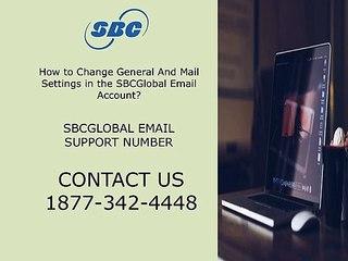 SBCGlobal Email Support Number ☎ 1877-342-4448 ☎