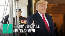 Donald Trump supera el 'impeachment'