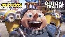 Minions The Rise of Gru Movie Trailer