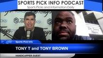 Rockets Lakers NBA Pick Tony T Tony Brown 2/6/2020