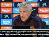 """Barça - Setién :""""Le lien entre Messi et Griezmann sera fluide et extraordinaire."""""""