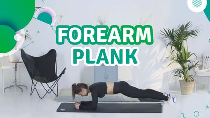 Forearm plank - Fit People