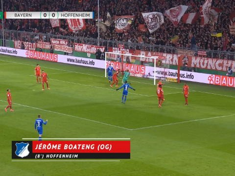 Coupe d'Allemagne - Le Bayern élimine Hoffenheim