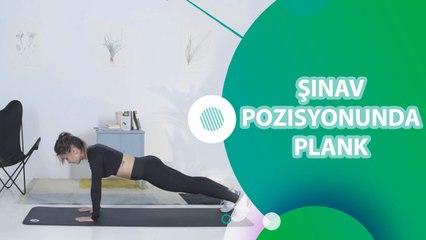 Şınav pozisyonunda plank - Sporcuyum