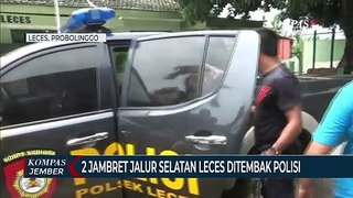 2 Jambret Jalur Selatan Leces Ditembak Polisi