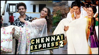 Sara Ali Khan Kartik Aaryan REPLACES Shah Rukh & Deepika In Chennai Express 2 | Details Revealed