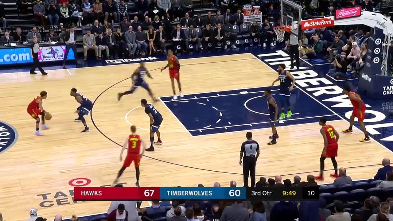 Atlanta Hawks 127 - 120 Minnesota Timberwolves