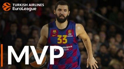 Round 23 MVP: Nikola Mirotic, FC Barcelona