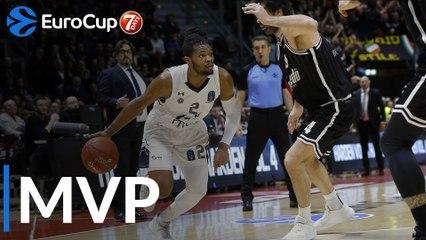 Top 16 Round 5 MVP, Corey Walden, Partizan NIS Belgrade