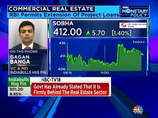 RBI monetary policy: Steps taken for real estate important from sentiment and financial point of view, says Indiabulls Hsg