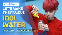 [Pops in Seoul] LET'S MAKE THE FAMOUS IDOL WATER WITH ByeongKwan