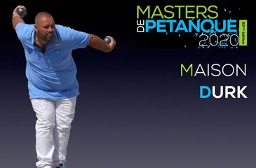 Masters de pétanque 2020 : Equipe DURK, à l'attaque !