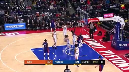 Phoenix Suns 108 - 116 Detroit Pistons