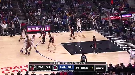 Miami Heat 111 - 128 LA Clippers