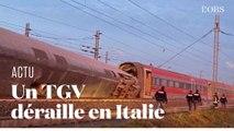 Un TGV déraille en Italie près de Milan, tuant deux personnes