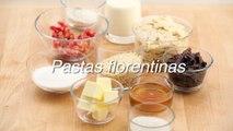 Receta de pastas florentinas