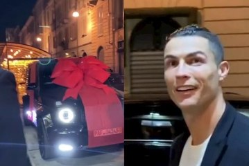 Cadeau a 180 000€ pour l'anniversaire de Cristiano Ronaldo