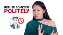 """How to Say """"No Thanks"""" in Chinese 