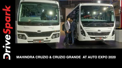Mahindra Cruzio & Cruzio Grande at Auto Expo 2020 | First Look, Features & More