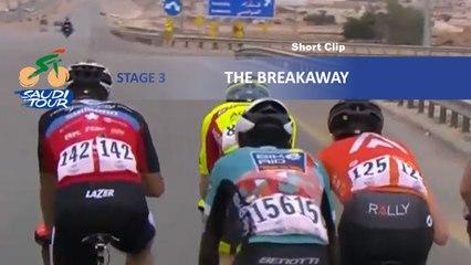 Saudi Tour 2020 - Étape 3 / Stage 3 - The breakaway