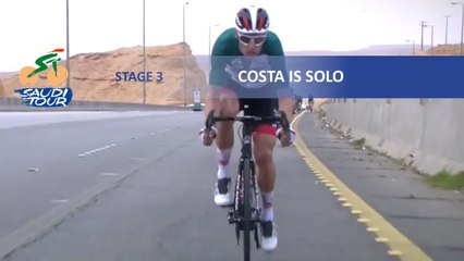 Saudi Tour 2020 - Étape 3 / Stage 3 - Costa is solo