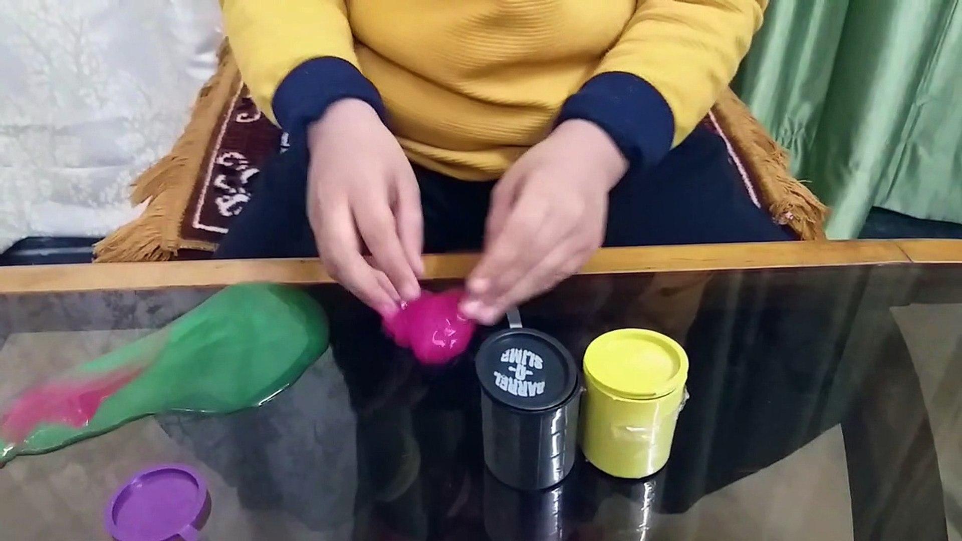 Kids Slime Play Video