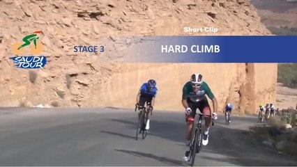 Saudi Tour 2020 - Étape 3 / Stage 3 - Hard climb